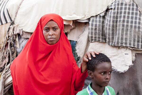 Faisa drømmer om selv at kunne skabe en bedre fremtid for sine børn med hjælp fra Red Barnets projekt. Foto: Karin Hindkjær/Red Barnet